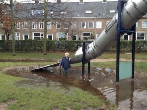 Wateroverlast door grondwater