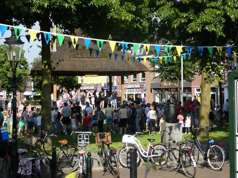 Dorpsfeest in dorpspark