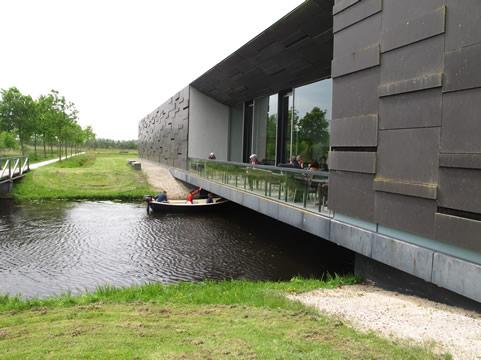 Boot onder museum