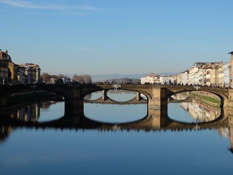Bruggen over de Arno